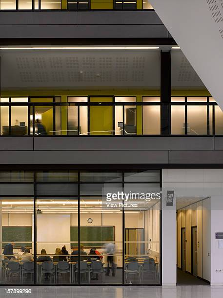 Alan Turing Building Manchester University Manchester United Kingdom Architect Sheppard Robson Alan Turing Building Classroom Backing On Atrium