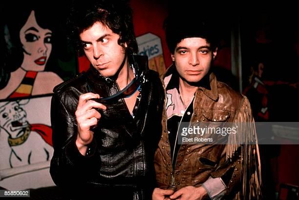 Alan Vega on right