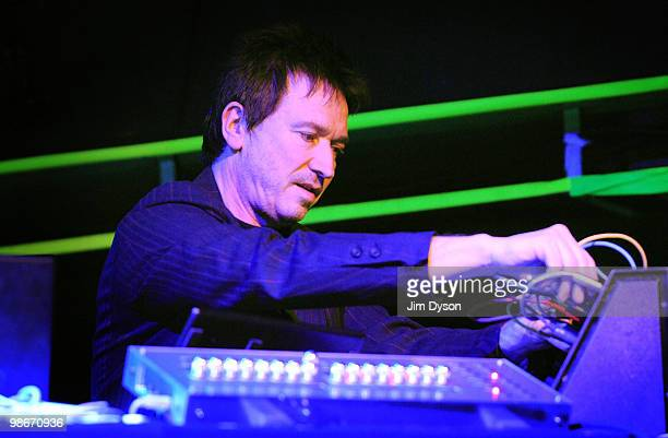 Alan Wilder performs live on stage as 'Recoil' during the 'Selected Events 2010' tour at O2 Islington Academy on April 25 2010 in London England