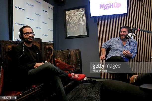 Alan Wilkis aka Big Data attends Hits 1's The Morning Mash Up Broadcast from the SiriusXM Studios on February 9 2015 in Los Angeles California