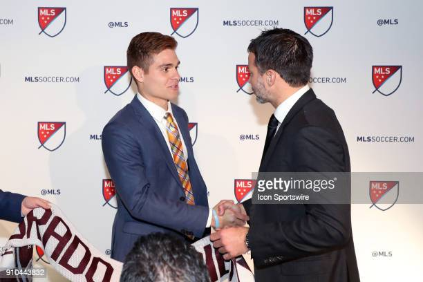 Alan Winn was taken with the 25th overall pick by Colorado Rapids with head coach Anthony Hudson during the MLS SuperDraft 2018 on January 19 at the...