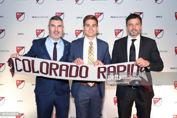 Alan Winn was taken with the 25th overall pick by Colorado Rapids with general manager Padraig Smith and head coach Anthony Hudson during the MLS...