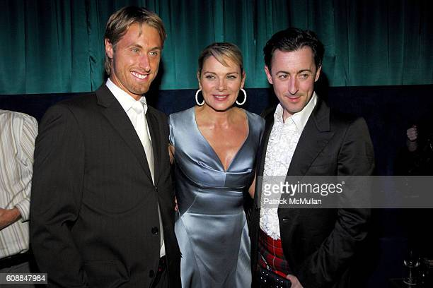 Alan Wyse, Kim Catrall and Alan Cumming attend CONDE NAST TRAVELER Readers' Choice Awards & 20TH Anniversary Party at Cooper-Hewitt National Design...