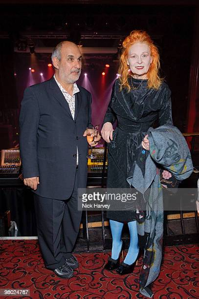 Alan Yentob and Vivienne Westwood attend The ICA Fundraising Gala at KOKO on March 24, 2010 in London, England.