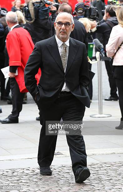 Alan Yentob attends a memorial service for the late Sir Terry Wogan at Westminster Abbey on September 27 2016 in London England