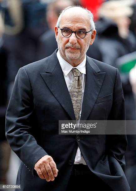 Alan Yentob attends a memorial service for the late Sir Terry Wogan at Westminster Abbey on September 27 2016 in London England Radio and television...