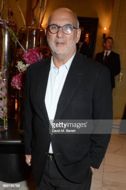 Alan Yentob attends an after party following the UK Premiere of 'The Happy Prince' hosted by Justine Picardie editor of Harper's Bazaar at Cafe Royal...