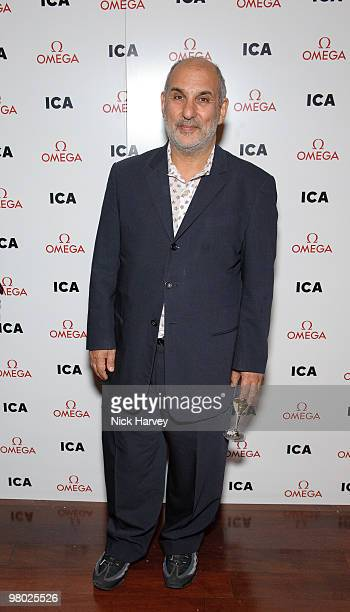 Alan Yentob attends The ICA Fundraising Gala at KOKO on March 24, 2010 in London, England.