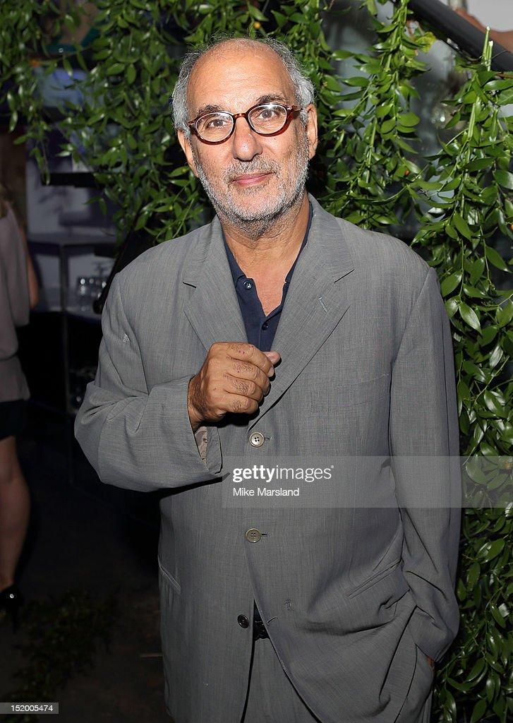 Alan Yentob attends the launch of Salman Rushdie's new book 'Joseph Anton' on September 14, 2012 in London, England.