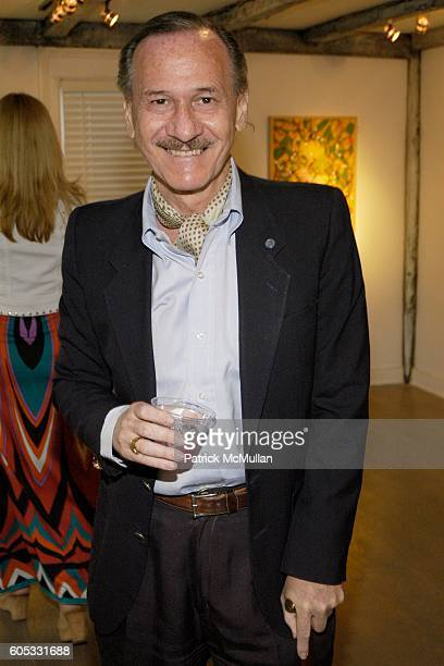 Alan Z Feuer attends WANDA MURPHY Unveils her IN MEMORY OF YOU Collection at EZAIR GALLERY NELLO'S on May 28 2006 in Southampton New York