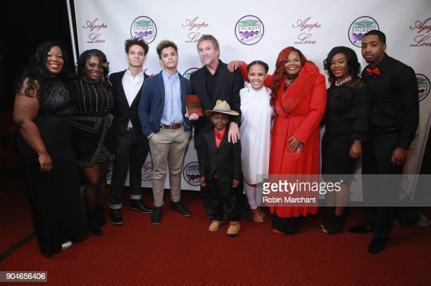 Alan Zulkowski Kimberley T Zulkowski and family attend Agape Love Red Carpet on January 13 2018 in Milwaukee Wisconsin
