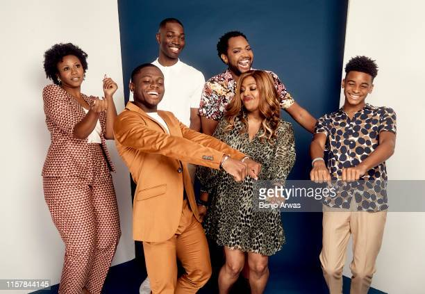 Alana Arenas Akili McDowell Tarell Alvin McCraney Travis Coles Dee HarrisLawrence and Nathaniel Logan McIntyre of OWN Oprah Winfrey Network's 'David...