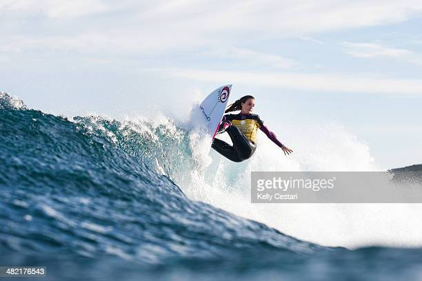 Alana Blanchard of Hawaii placed equal 13th in the Drug Aware Margaret River Pro on April 3 2014 in Margaret River Australia