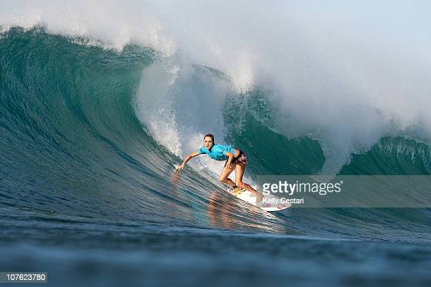 Alana Blanchard places fourth in the VANS Triple Crown Duel for the Jewel on December 15 2010 in Honolulu Hawaii