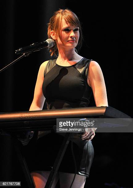 Alana Brown of The Rua performs on Day 2 of Live In The Vineyard at the Uptown Theater Napa on November 5, 2016 in Napa, California.