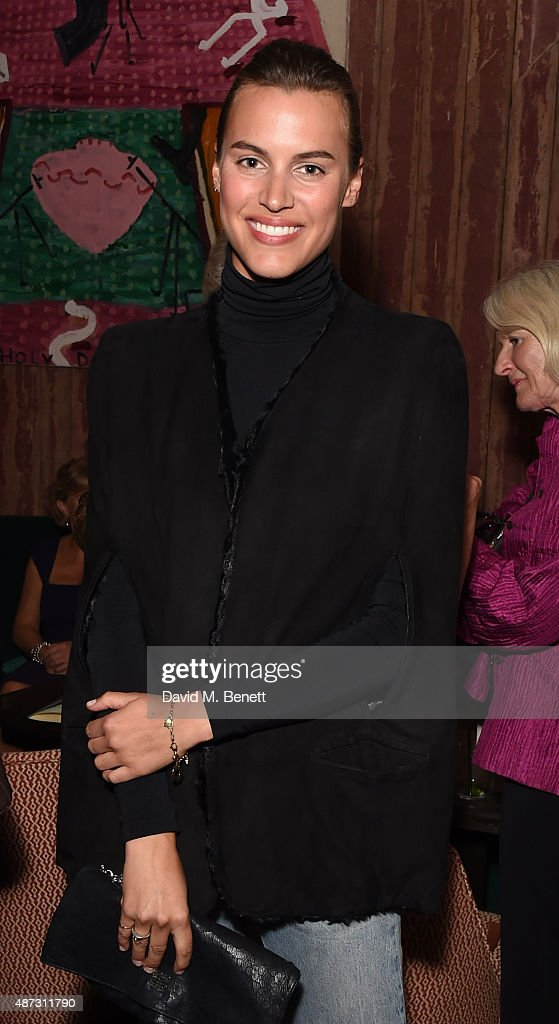 Alana Bunte attends the launch of the Academicians' Room private members club in The Keeper's House at The Royal Academy of Arts on September 8, 2015 in London, England.