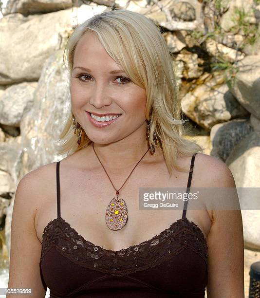 Alana Curry during 11th Annual Safari Brunch at Playboy Mansion in Beverly Hills California United States