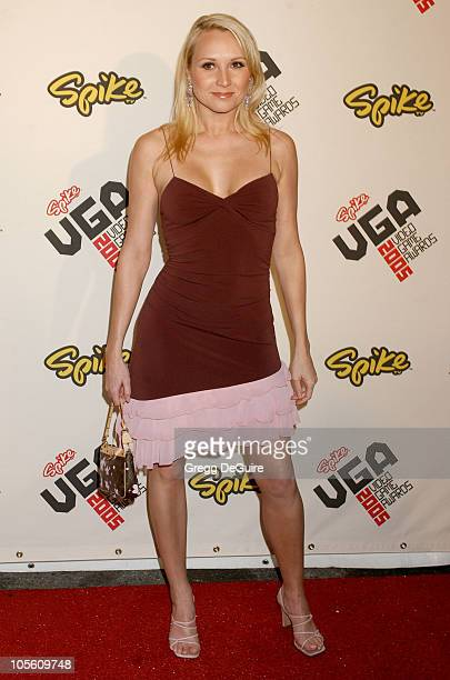Alana Curry during 2005 Spike TV Video Game Awards Arrivals at Gibson Amphitheater in Universal City California United States