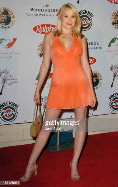 Alana Curry during 3rd Annual 'Feast of San Gennaro LA' Gala 'Prima Notte' at Grove Drive in Los Angeles California United States