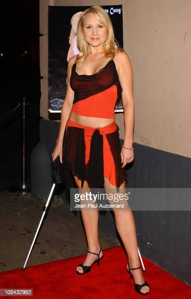 Alana Curry during Alana Curry's 25th Birthday Bash Arrivals at Spider Club in Hollywood California United States