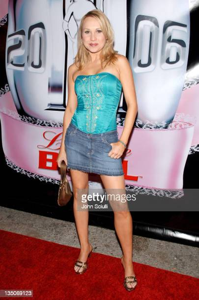Alana Curry during Bodogcom Presents the 2006 Lingerie Bowl After Party at Hollywood Roosevelt Hotel in Los Angeles CA United States
