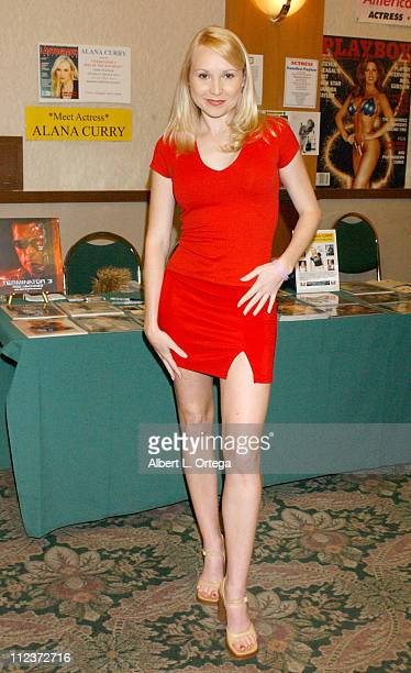 Alana Curry during Creation Entertainment and Femme Fatales Magazine Presents Weekend Of Wonder Day One at Burbank Airport Hilton in Burbank...