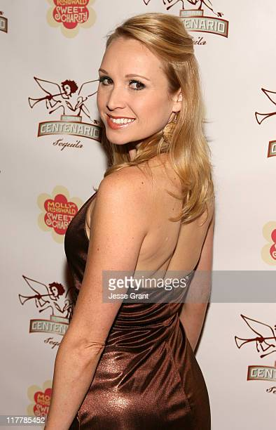 Alana Curry during Gran Centenario Tequila Hosts the LA Premiere Performance of 'Sweet Charity' Red Carpet at Pantages Theatre in Los Angeles...