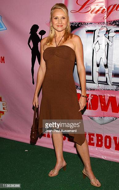 Alana Curry during Lingerie Bowl III National Kick Off Party at Cabana Club in Hollywood California United States