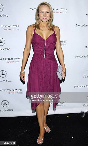 Alana Curry during MercedesBenz Fall 2006 LA Fashion Week at Smashbox Studios Day 2 Arrivals at Smashbox Studios in Culver City California United...