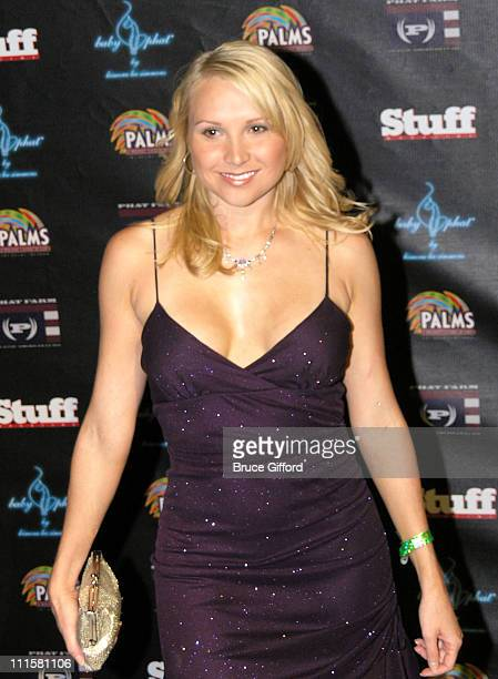 Alana Curry during Stuff Magazine Casino Weekend Phat Farm Fashion Show Red Carpet for Bone Thugs 'N' Harmony at The Palms Hotel and Casino in Las...