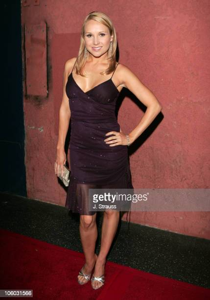 Alana Curry during The AIDS Healthcare Foundation Presents Hot in Hollywood at The Henry Fonda/Music Box Theatre in Hollywood California United States