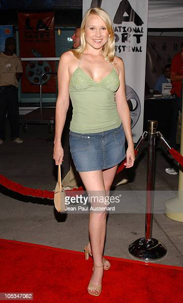 Alana Curry during 'VLAD' Los Angeles Premiere Arrivals at The ArcLight in Hollywood California United States