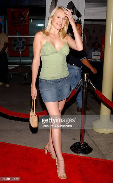 Alana Curry during VLAD Los Angeles Premiere Arrivals at The ArcLight in Hollywood California United States