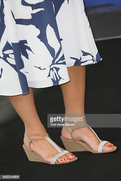 Alana de la Garza attends 'Criminal Minds Beyond Borders ' Photocall as part of the 56th Monte Carlo Tv Festival at the Grimaldi Forum on June 14...