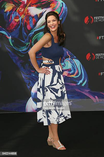 Alana de la Garza attends Criminal Minds Beyond Borders Photocall as part of the 56th Monte Carlo Tv Festival at the Grimaldi Forum on June 14 2016...