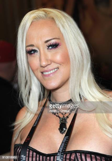 Alana Evans attends the 2018 AVN Adult Entertainment Expo at the Hard Rock Hotel Casino on January 26 2018 in Las Vegas Nevada
