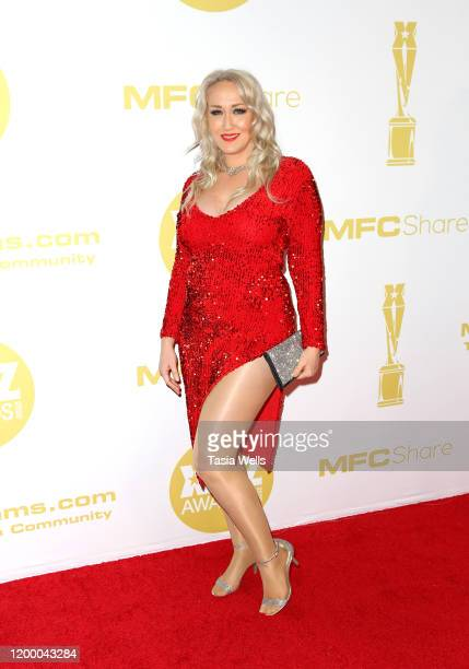 Alana Evans attends the XBIZ Awards 2020 on January 16, 2020 in Los Angeles, California.