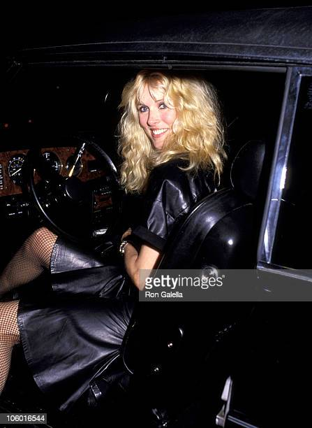 Alana Hamilton during Publication Party for Joan Collin's Book 'Past Imperfect' April 8 1984 at Ma Maison Restaurant in West Hollywood California...