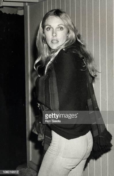 Alana Hamilton Stewart during Alana Hamilton Stewart at Dan Tana's Restaurant in Los Angeles March 7 1978 at Dan Tana's in Los Angeles California...