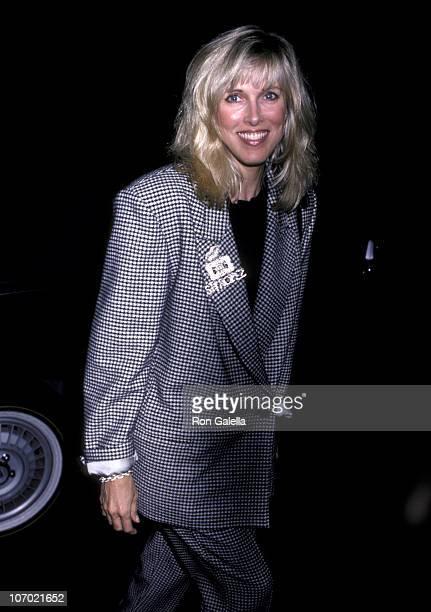 Alana Hamilton Stewart during Alana Hamilton Stewart at Nicky Blair's Restaurant in Hollywood October 27 1986 at Nicky Blair's in Hollywood...