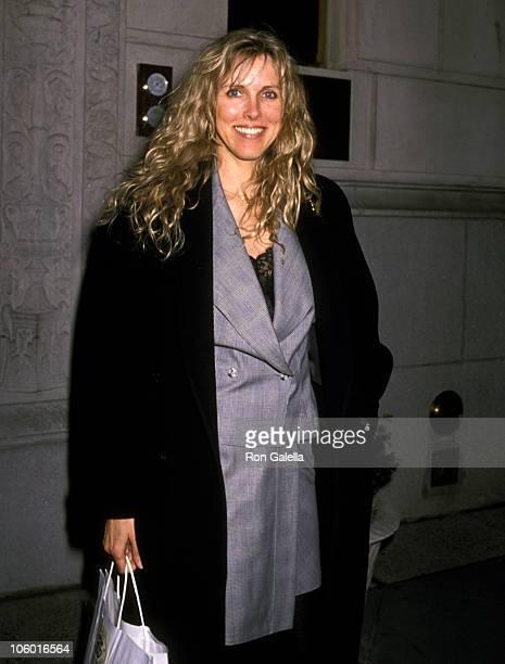 Alana Hamilton Stewart during Alana Hamilton Stewart at Plaza Athene in New York March 3 1989 at Plaza Athene in New York California United States