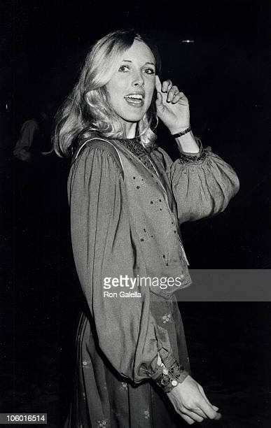 Alana Hamilton Stewart during Alana Hamilton Stewart at The Carlyle Hotel in New York September 23 1978 at The Carlyle in New York New York United...
