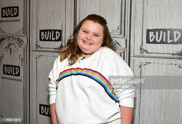"""Alana """"Honey Boo Boo"""" Thompson from TLC's reality TV series """"Here Comes Honey Boo Boo"""" attends Build Brunch at Build Studio on March 14, 2019 in New..."""