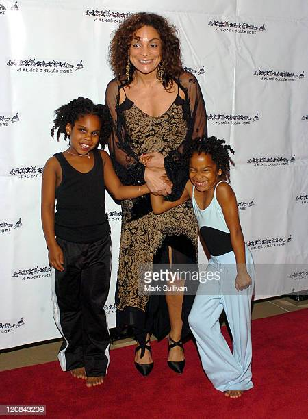 Alana Joyner Jasmine Guy and daughter Imani Duckette