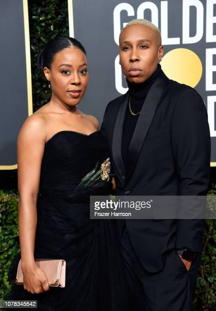 Alana Mayo and Lena Waithe attend the 76th Annual Golden Globe Awards at The Beverly Hilton Hotel on January 6, 2019 in Beverly Hills, California.