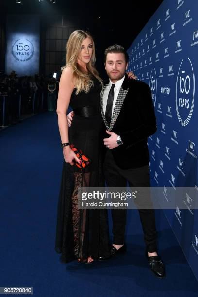 Alana Netzer and guest attend the IWC Schaffhausen Gala celebrating the Maison's 150th anniversary and the launch of its Jubilee Collection at the...