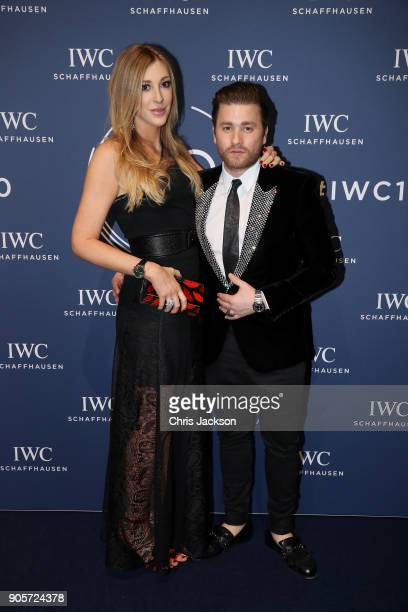 Alana Netzer and Sebastian Burgin attend the IWC Schaffhausen Gala celebrating the Maisons 150th anniversary and the launch of its Jubilee Collection...