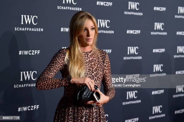 Alana Netzer attends the IWC 'For the Love of Cinema' Gala Dinner at AURA Zurich on 30 September 2017 in Zurich Switzerland During the event actor...