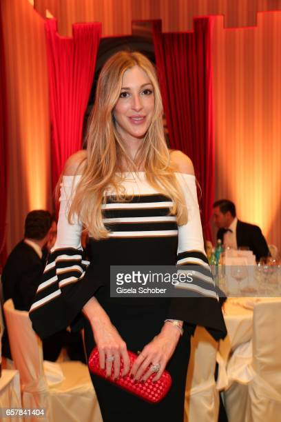 Alana Netzer daughter of Guenther and Elvira Netzer during the Gala Spa Awards at Brenners ParkHotel Spa on March 25 2017 in BadenBaden Germany