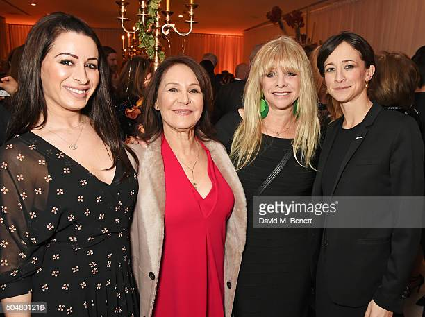 Alana Phillips Arlene Phillips Jo Wood and Leah Wood attend the opening night reception of the English National Ballet's Le Corsaire hosted by St...